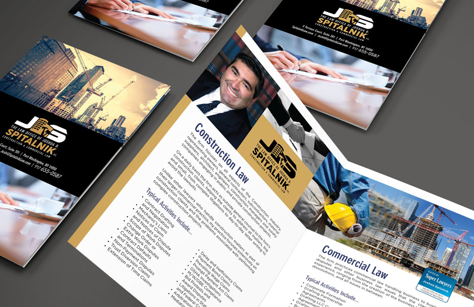 Law Office of Joshua Spitalnik Brochure & Branding Design