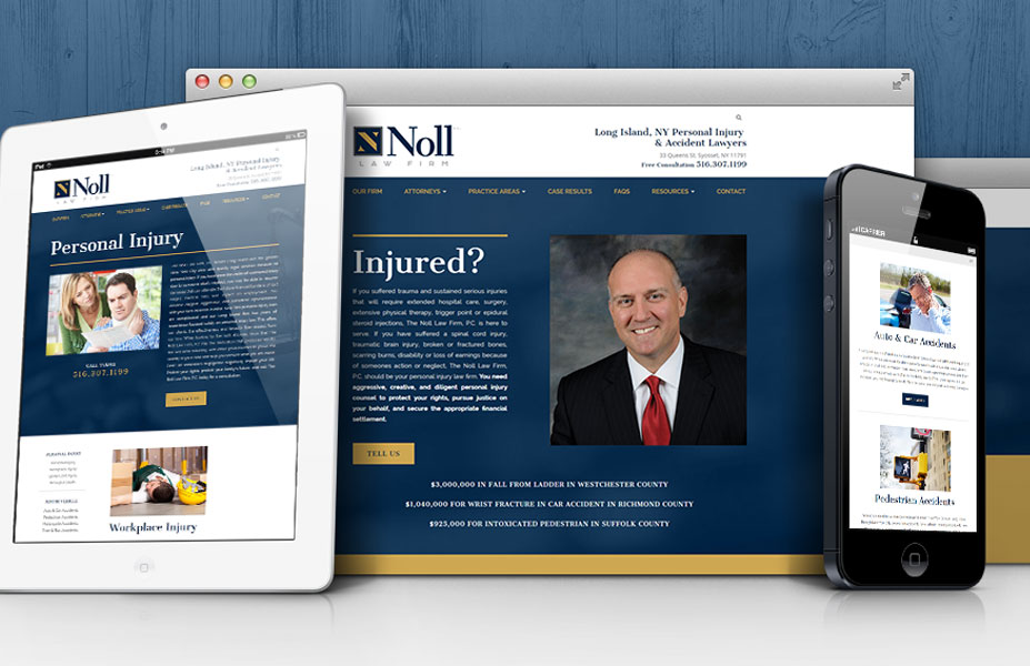 Noll Law Firm Branding & Website Design