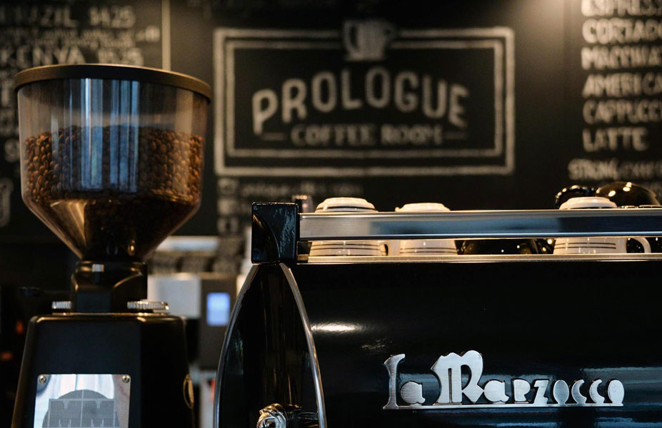 Prologue Coffee Room Branding & Website Design